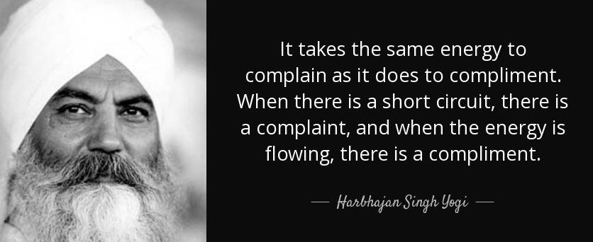 complain v compliment